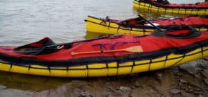 Boats with spray decks