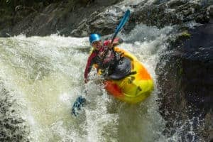 Waterfall Kayak Jump