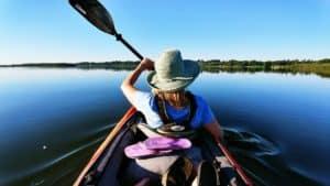 paddle aloft